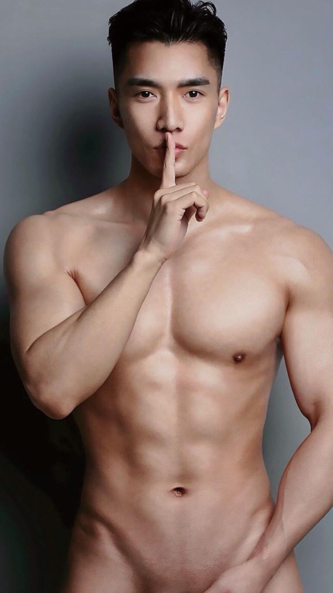 Asian sexy hot dick model