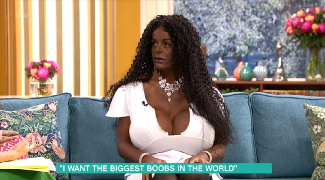 Worlds biggest breast implants