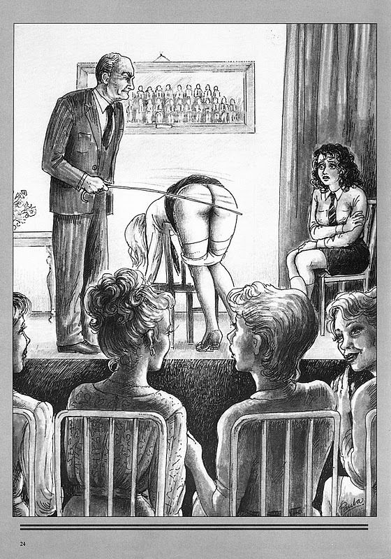 Bare bottom caning drawing