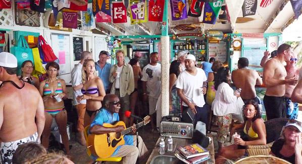 Bar in virgin islands