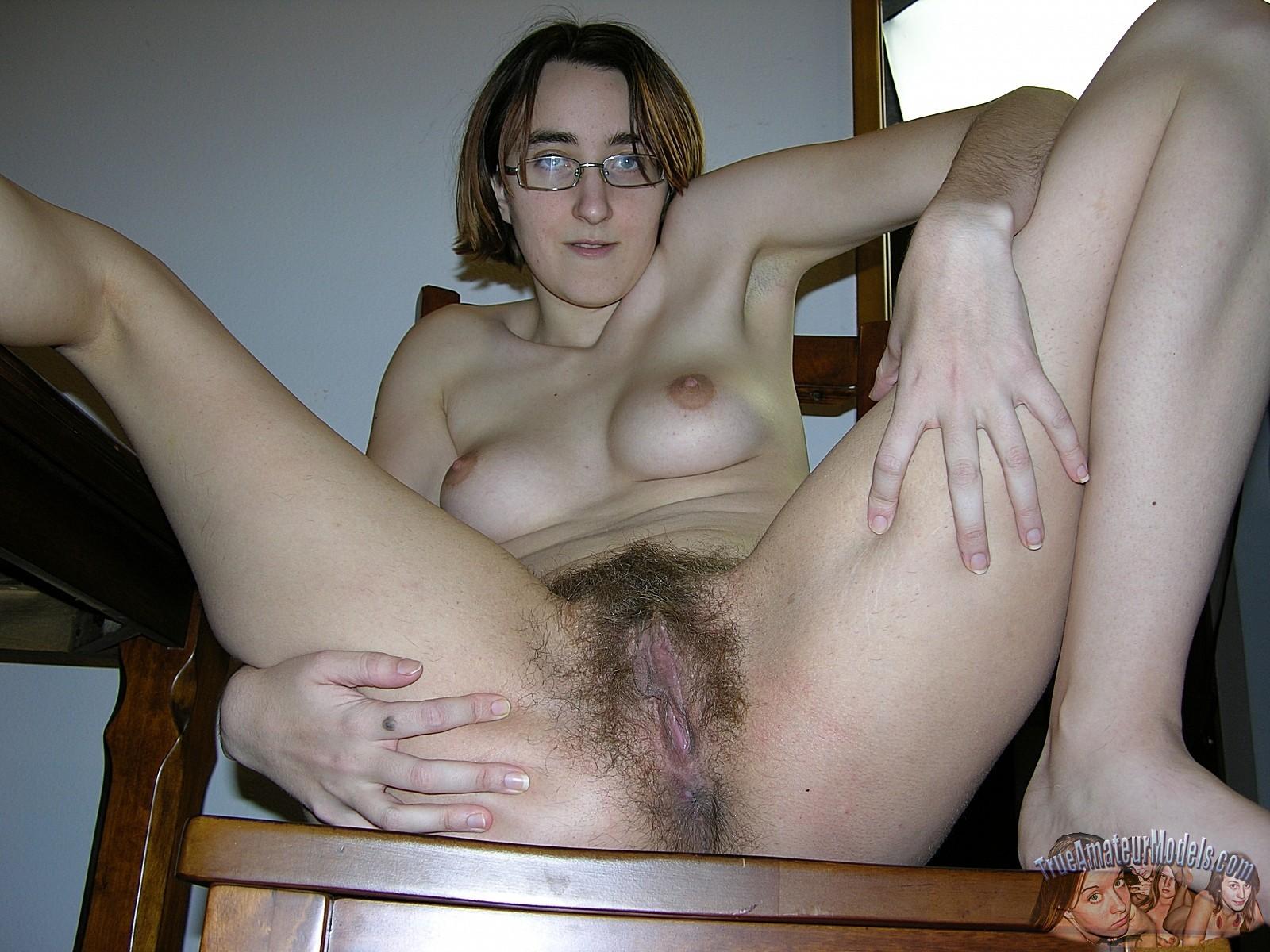 Amateur hairy girls butthole