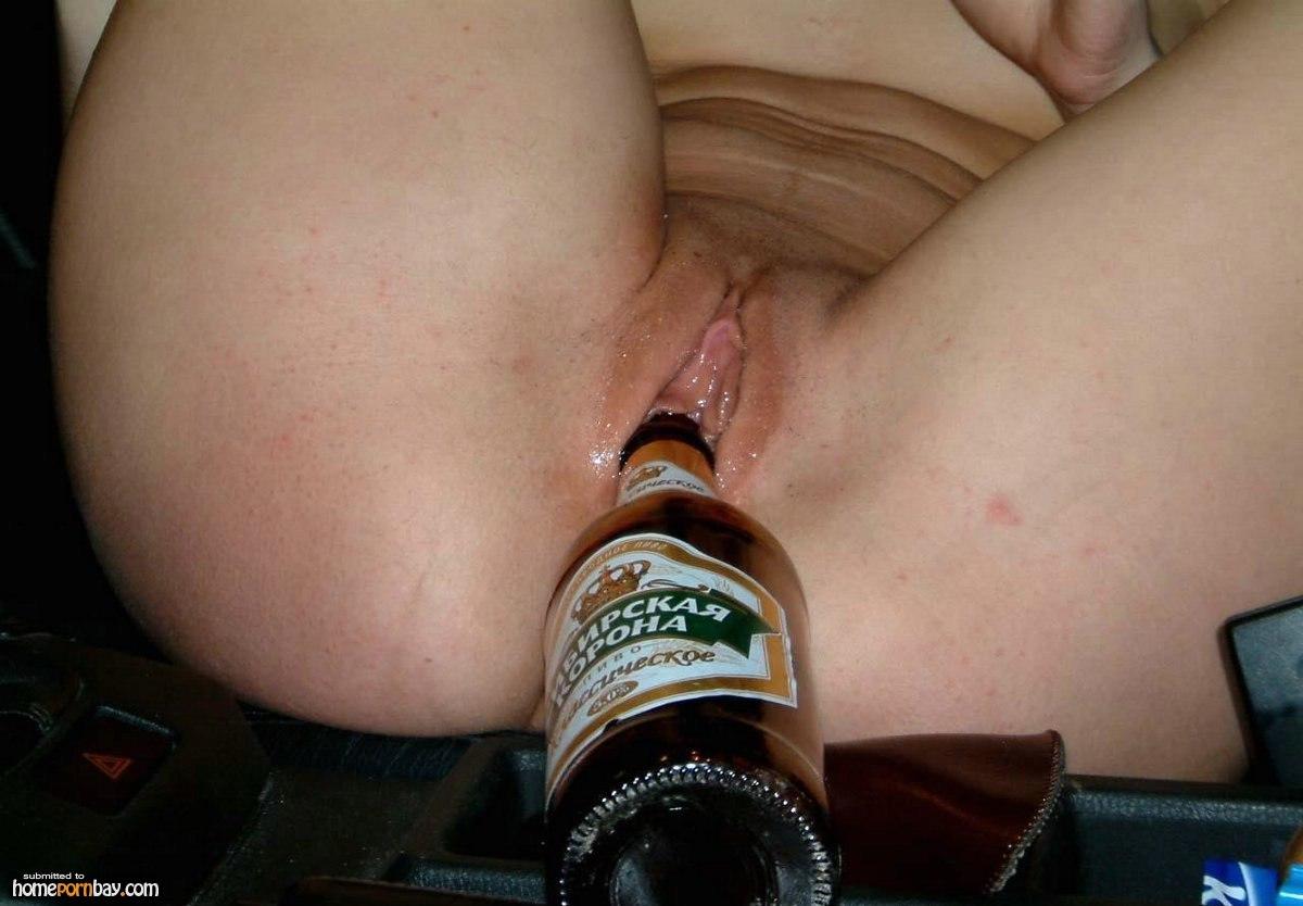 Beer bottles in pussy pics