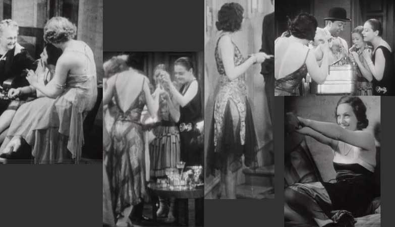 Early movie nude scenes