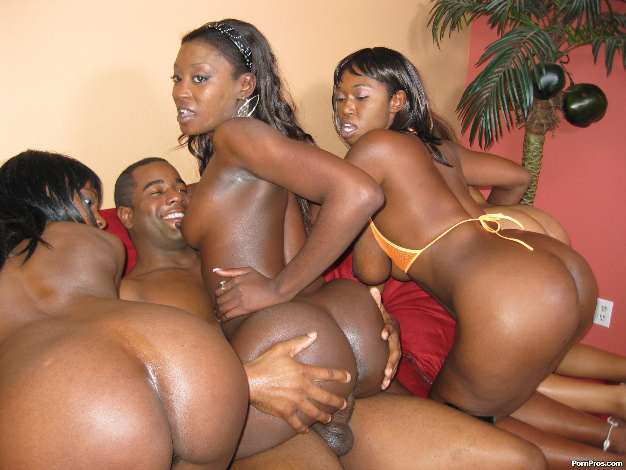 Black porn group sex
