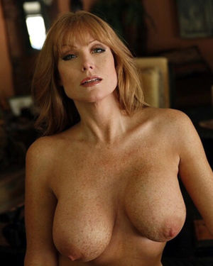 Milf with big boobs freckles