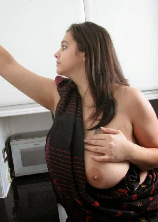 Indian wife big boob