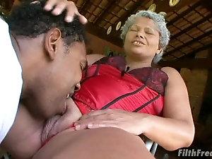 Big ass mature black women
