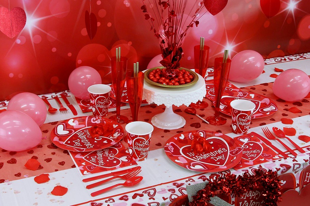 Adult day party valentine