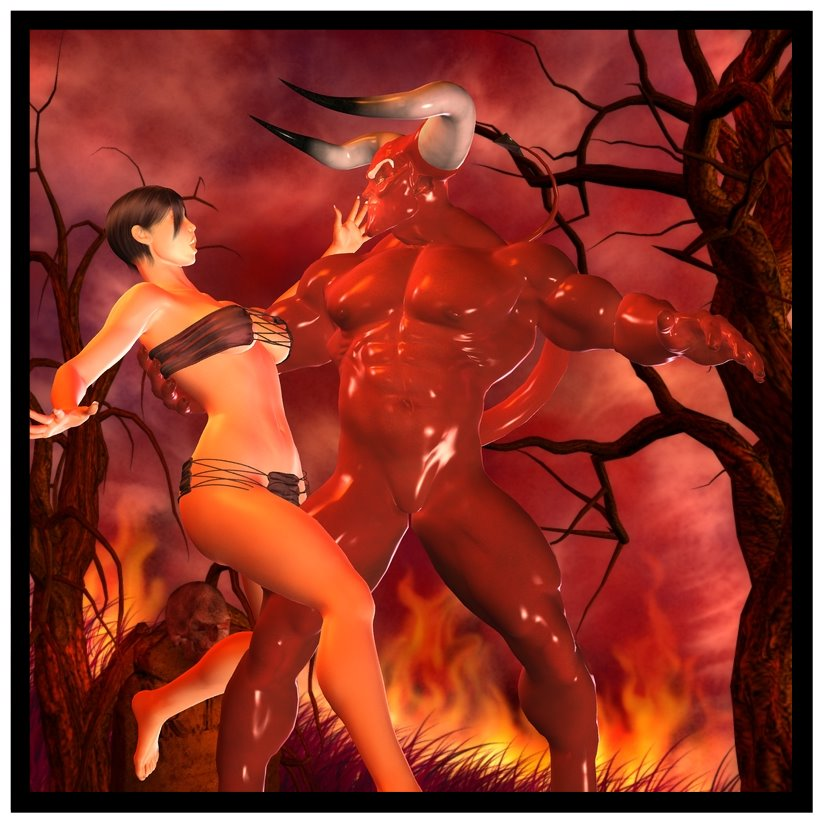Devil girls having sex