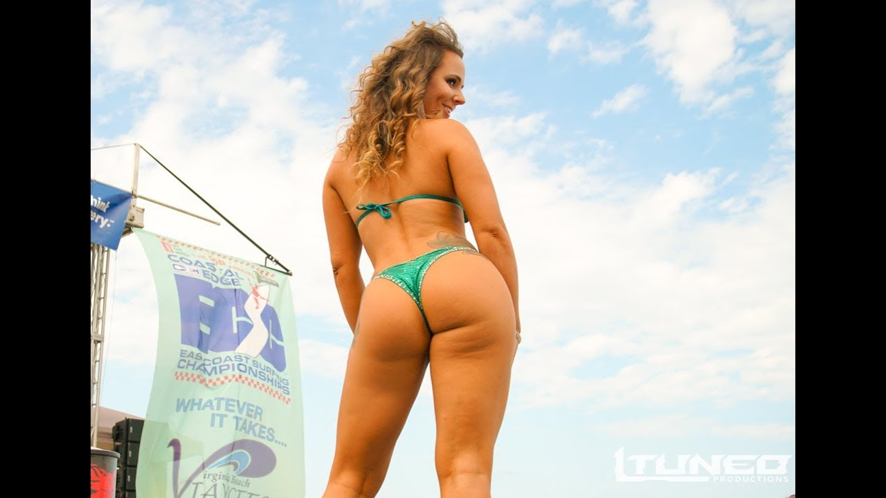 Bikini butt contest videos