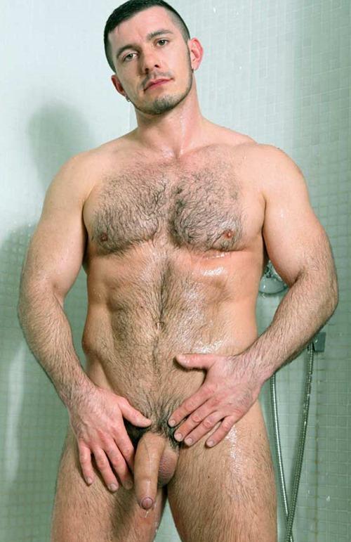 Men hairy rough naked