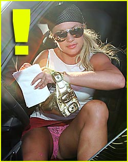 Britney spears upskirt panties