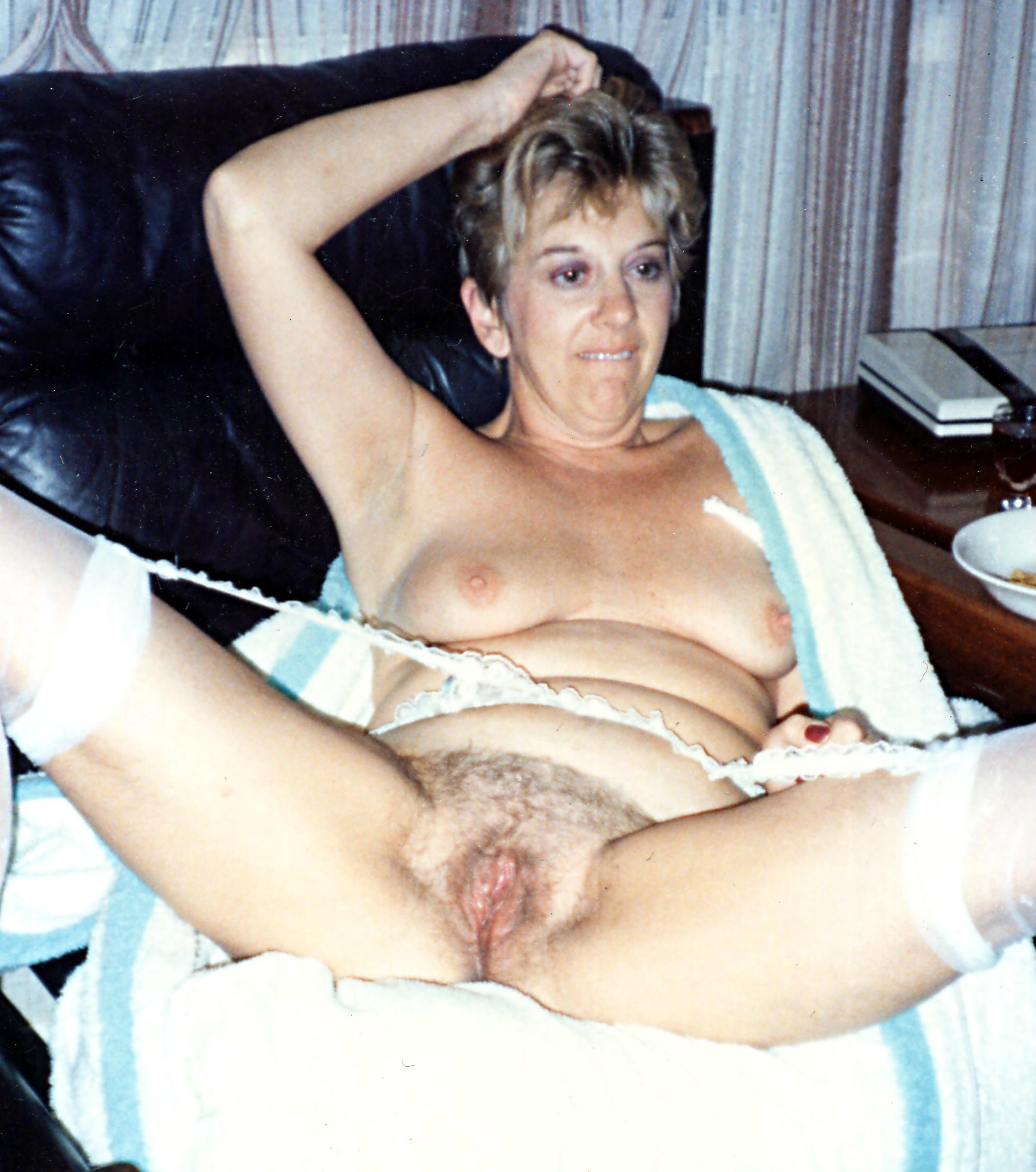 Polaroids of my wife naked