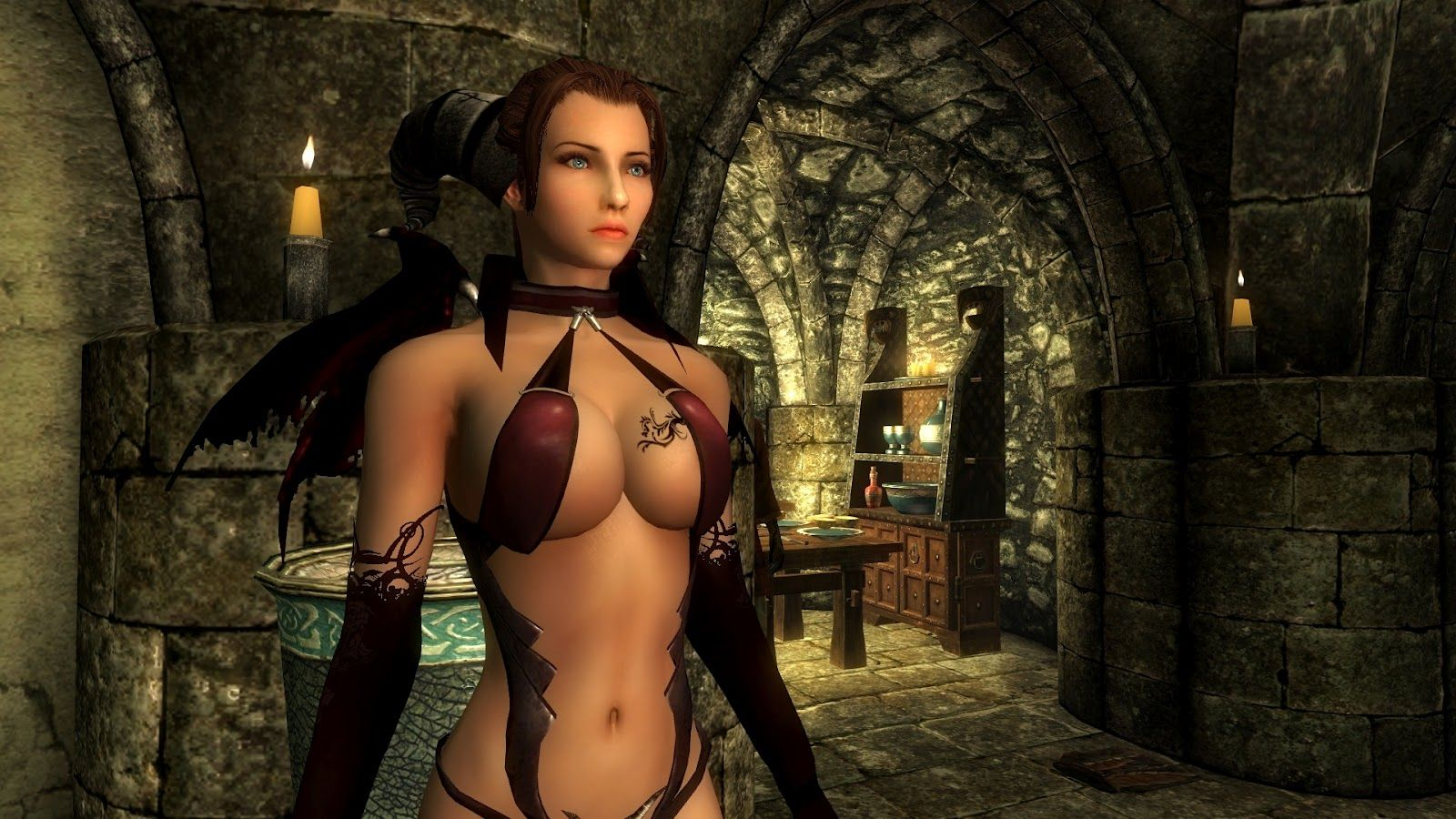 Hot girls in sexy armor