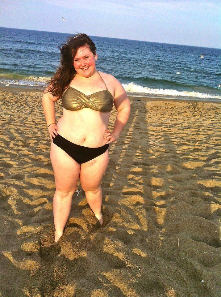 Should big girls wear bikinis