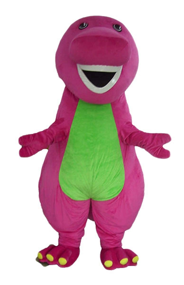 Adult barney costume dinosaur purple