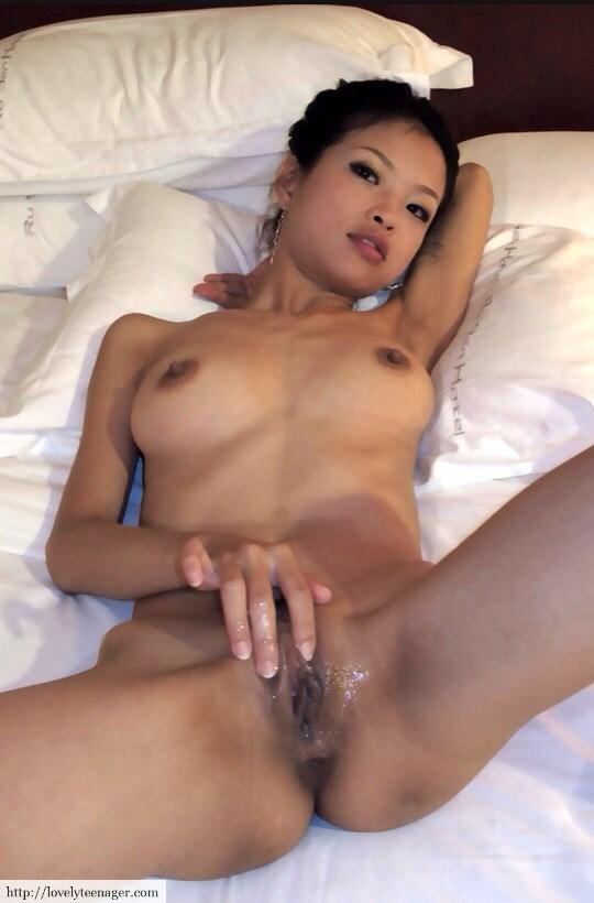 Asian girls wet pussy