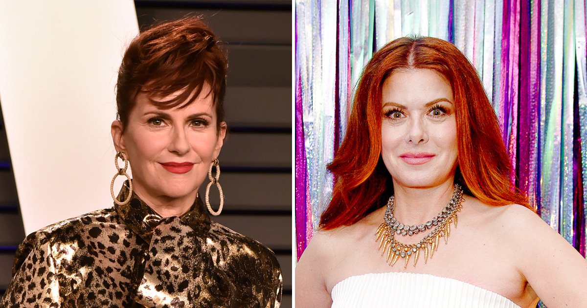 Megan mullally and debra messing
