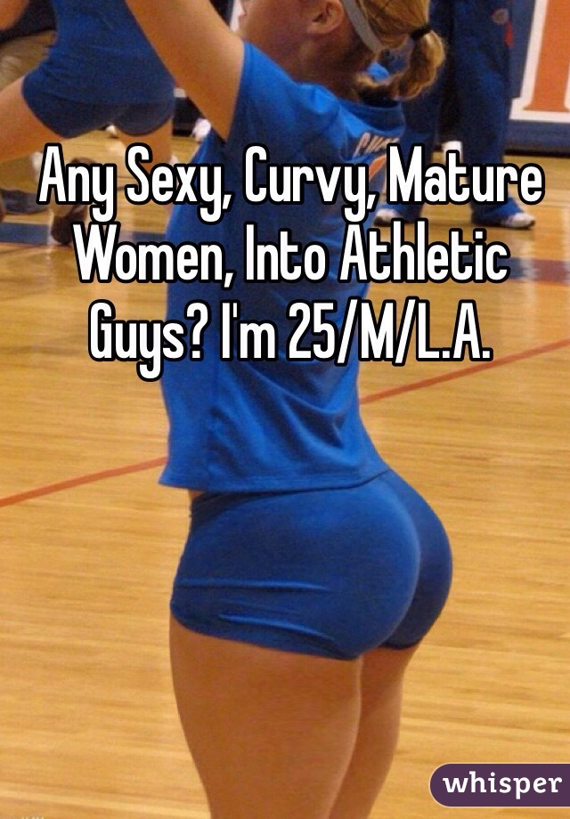 Sexy curvy mature women