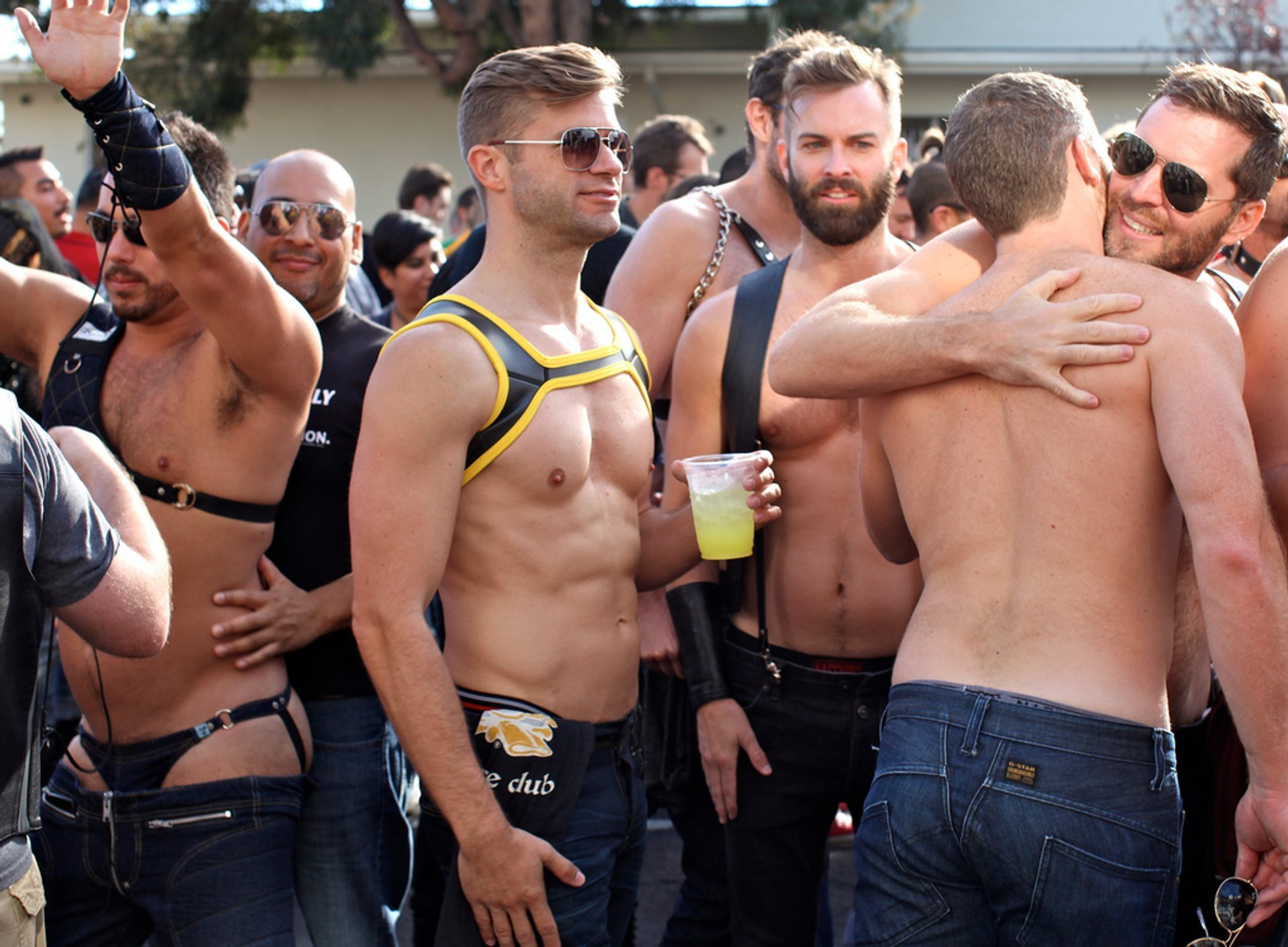 At folsom street fair