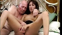 Old british man fucking wife