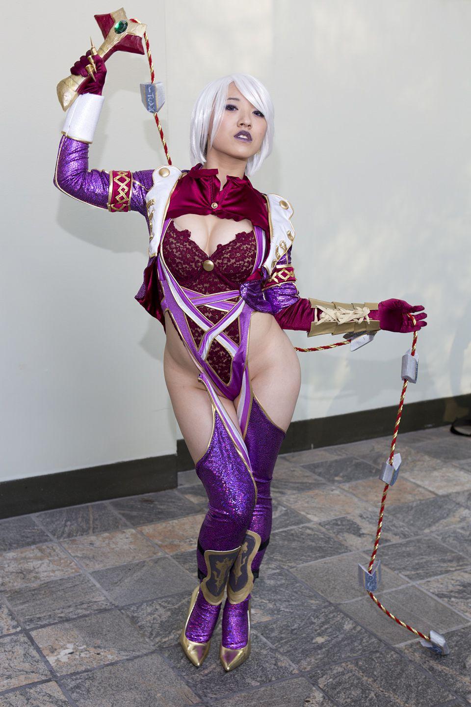 Soul calibur ivy cosplay