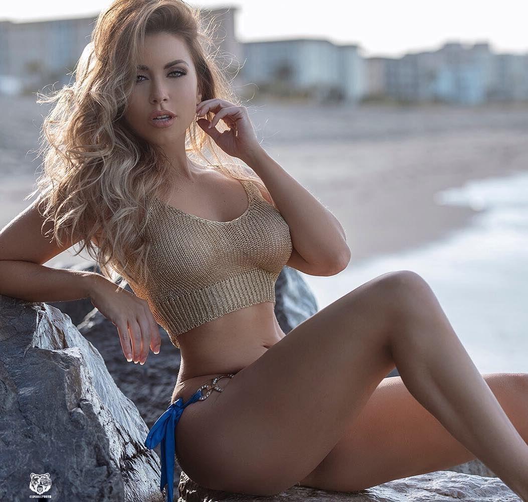 Non nude models beach