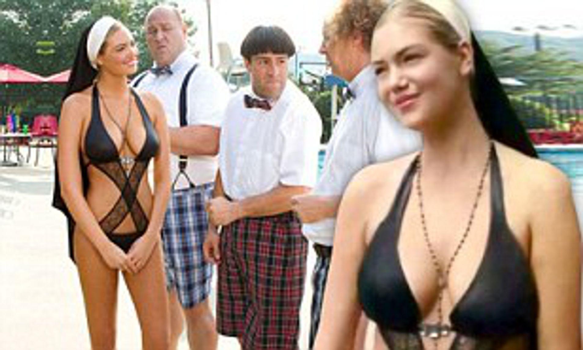 Kate upton bikini nun