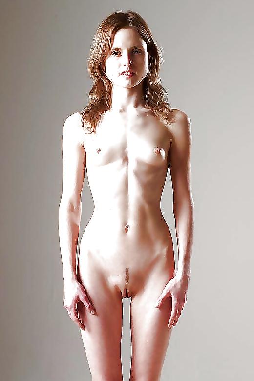 Skinny girl thigh gap nude