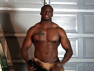 Black men porn muscle