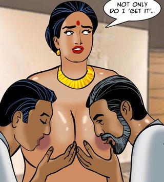 Man big boob xxx woman cartoon