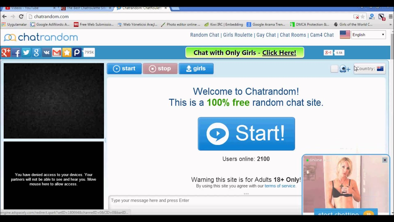 Free web cam chat