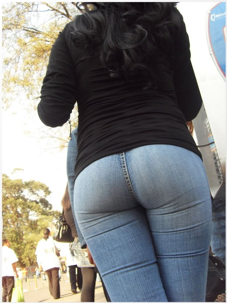Teens jeans pussy mound