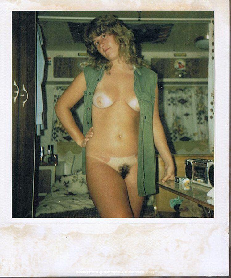 Nude amateur retro polaroids
