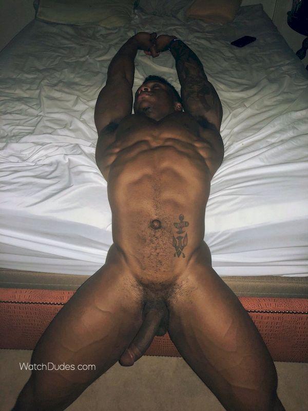 Black naked men with black cock