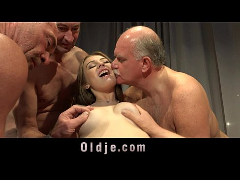 Nasty pussy after gangbang