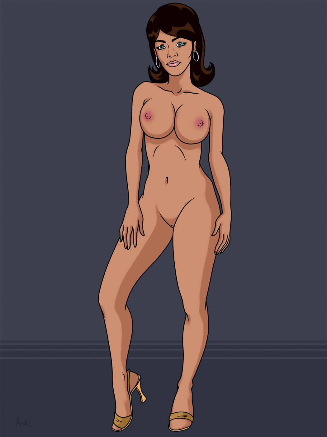 Archer cartoon nude girls