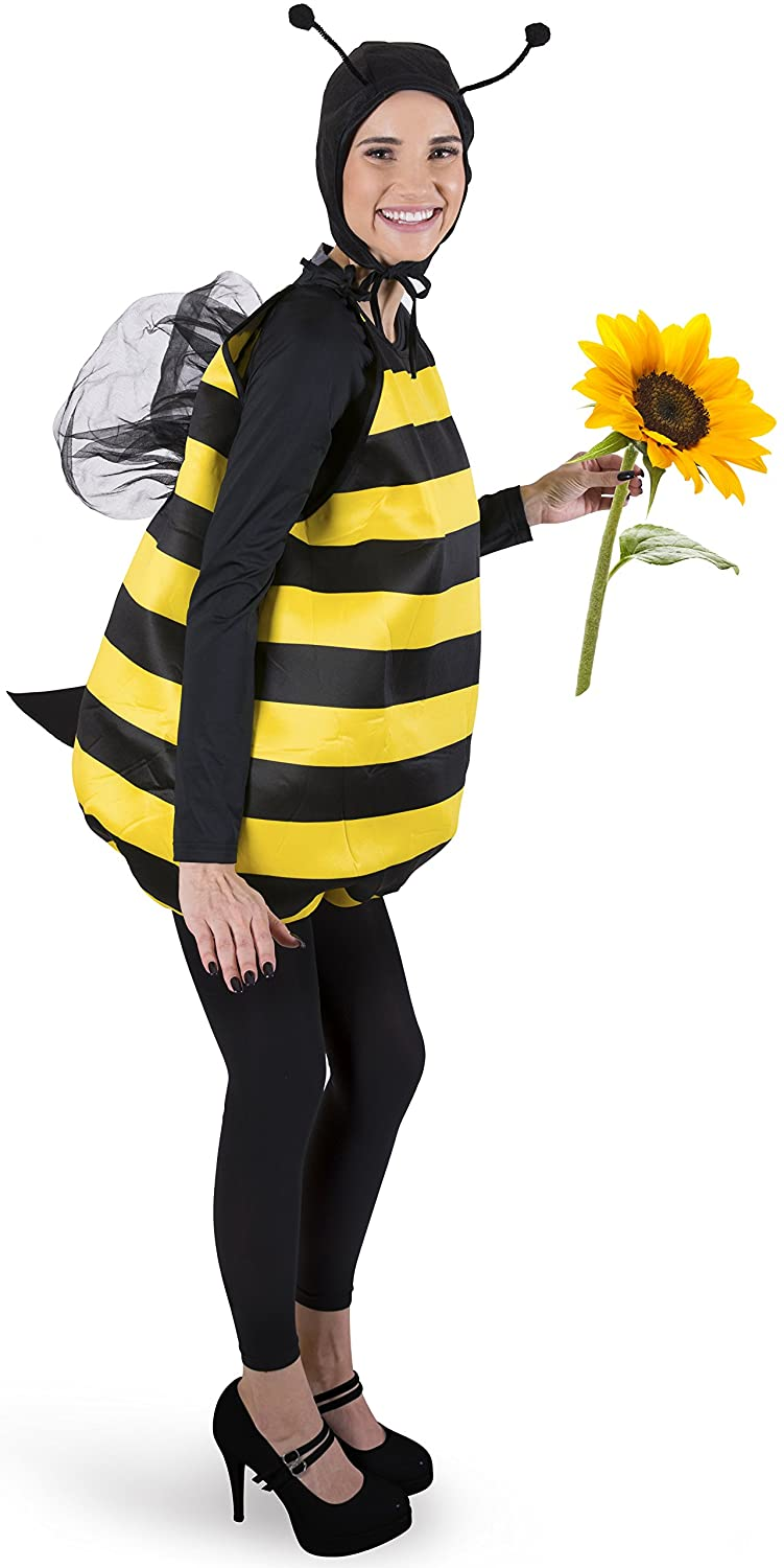 Honey bee halloween adult costume