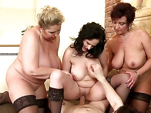 Older more mature threesomes