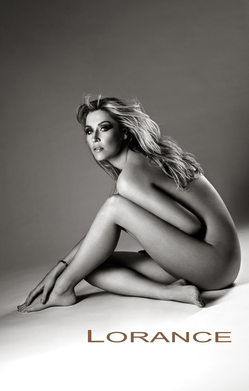 Photography model posing nude