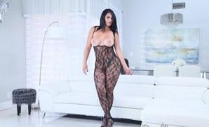 Ebony bigass in panties