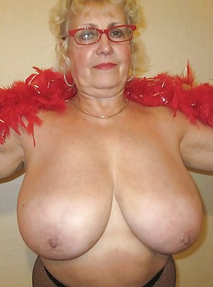 Nude old granny boobs giant