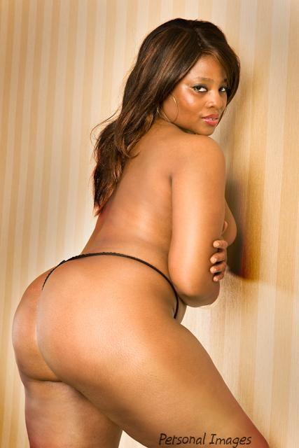 Ebony bubble booty nude