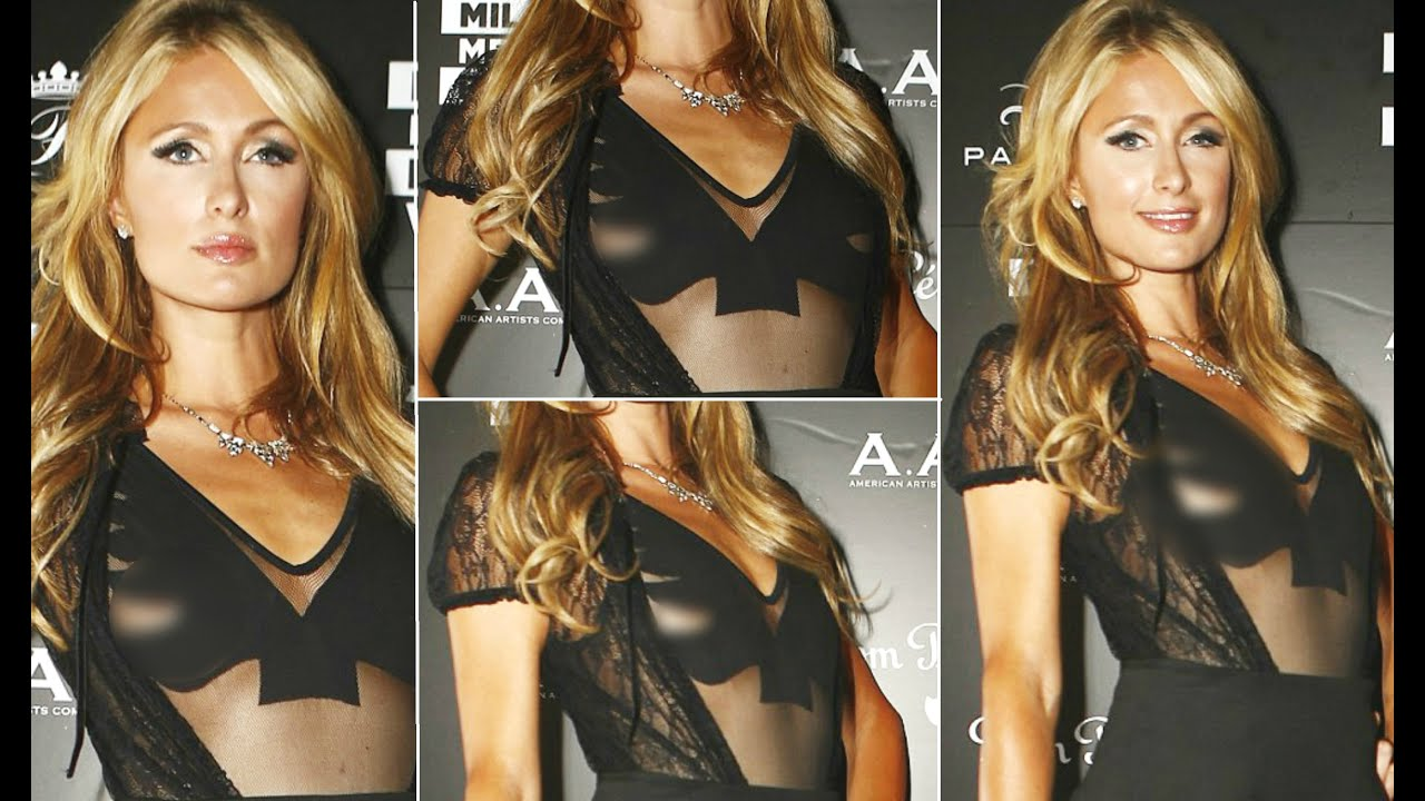 Paris hilton nipple slip wardrobe malfunction