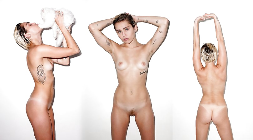 All miley cyrus candy nude