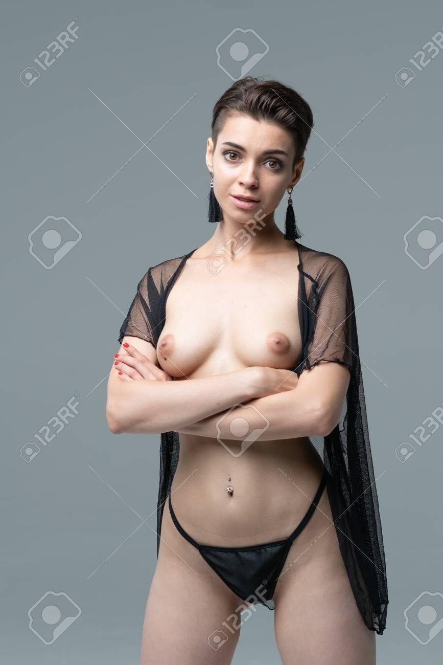Standing girls posing nude galleries