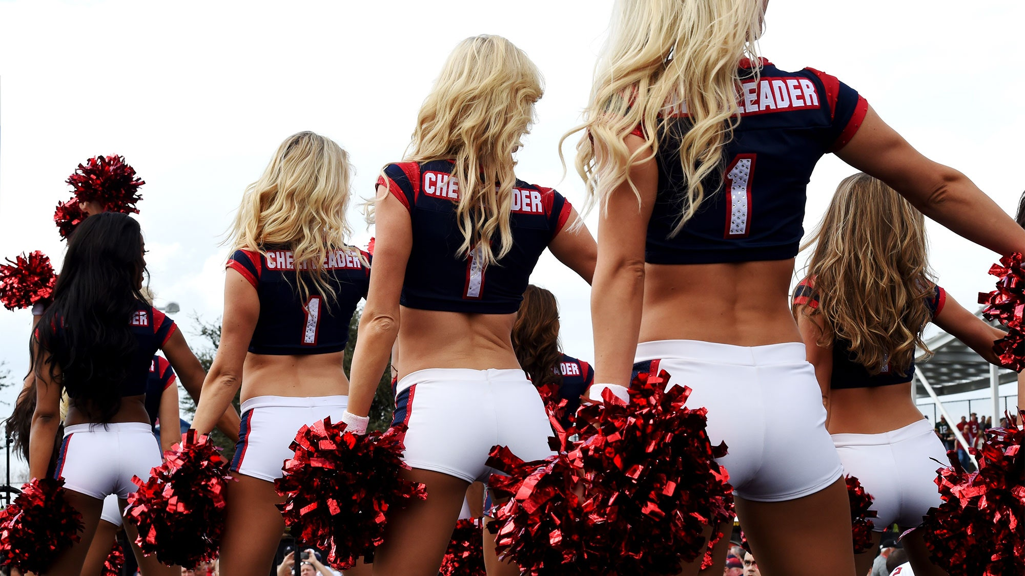 Cheerleaders first sex experience