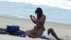 Naked black girls on beach
