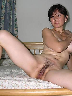 Mature chinese hairy pussy