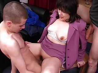 Sex boy with mom fuck